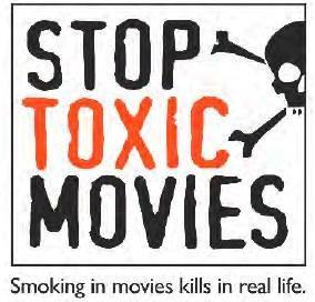 No smoking in movie theaters