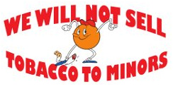 Will not sell tobacco to minors